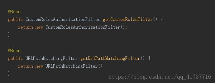 (springboot)shiro安全框架自定义过滤器出现的几个疑难杂症解决方案