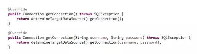 Spring 动态切换、添加数据源实现以及源码浅析