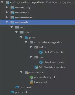 SpringBoot 多模块项目实践(附打包方法)