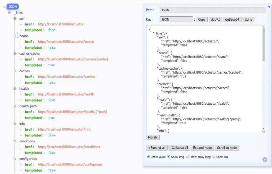 Spring Boot 服务监控,健康检查,线程信息,JVM堆信息,指标收集,运行情况监控等!