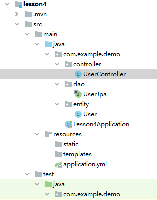使用Spring Data JPA 访问 Mysql 数据库-配置项